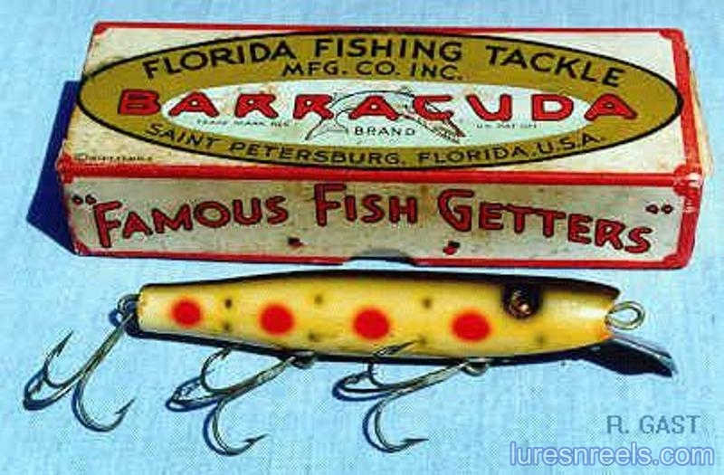 The No 30 BARRACUDA Lure circa 1940