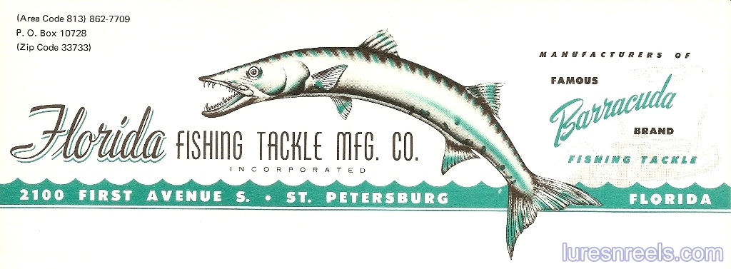 Florida Fishing Tackle Co Letterhead