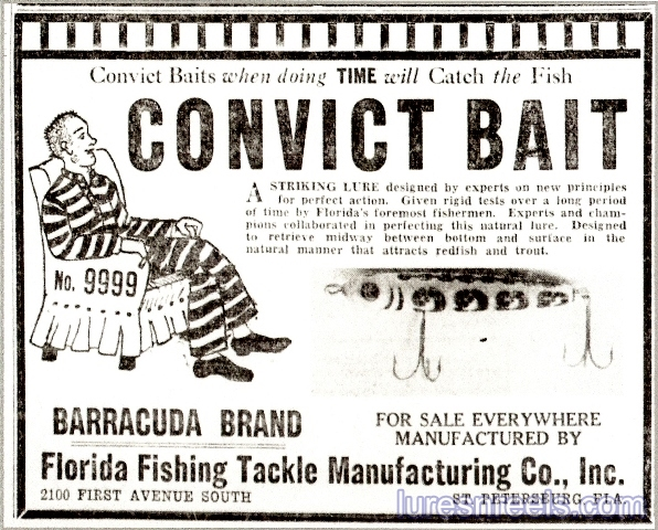 >Florida Fishing Tackle Co 1940 Tampa Bay Times Newspaper Ad