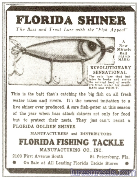 Florida Fishing Tackle Co 1940 Tampa Bay Times Newspaper Ad