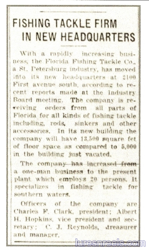 August 14 1930 Tampa Bay Times Newspaper Article