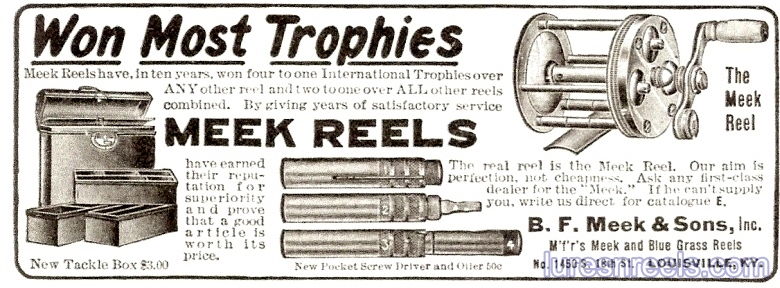 B F Meek and Sons 1915 Ad