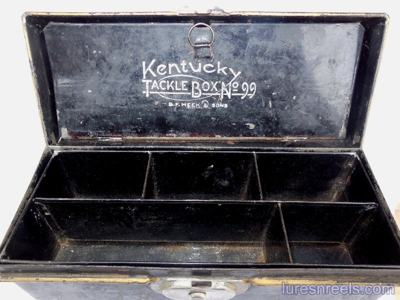 B F Meek and Sons No 99 Tackle Box 2
