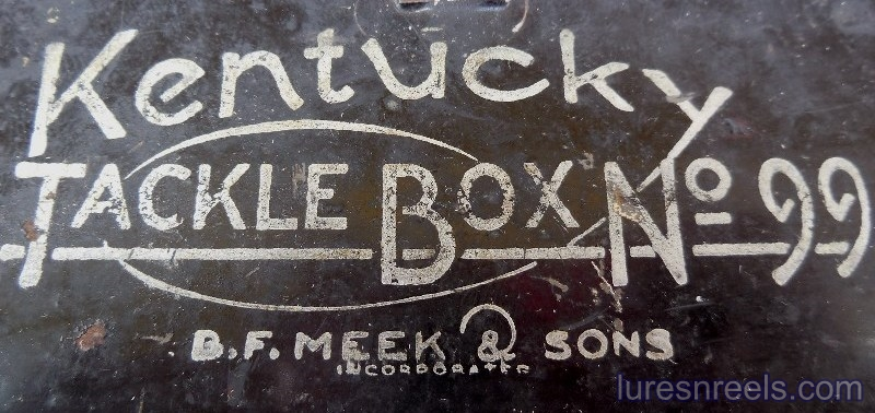 B F Meek and Sons No 99 Tackle Box 3
