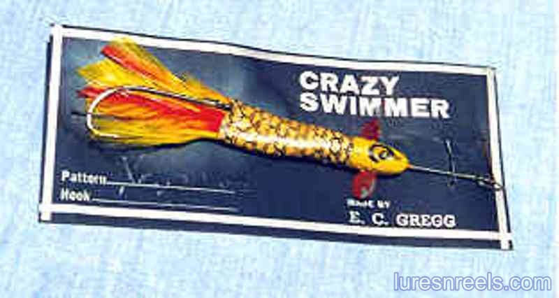 Gregg Crazy Swimmer lures