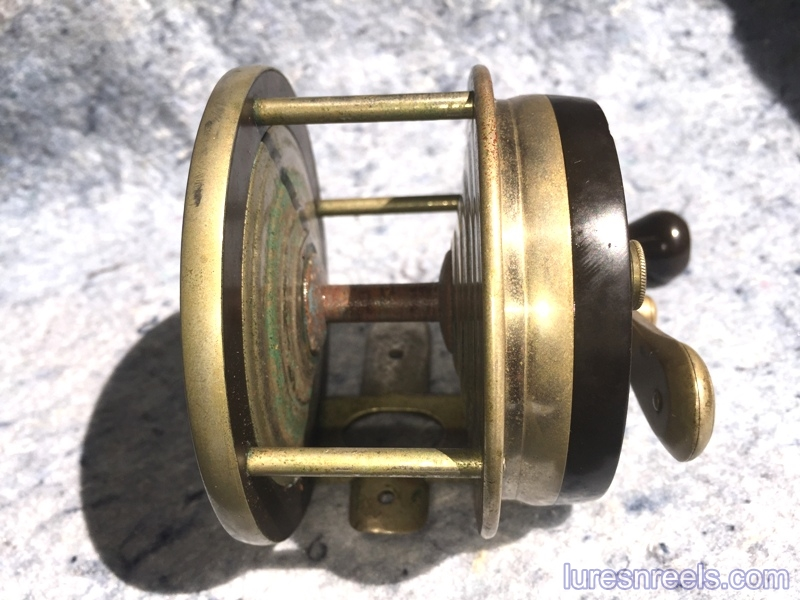 E HOLZMANN Surf King 1900 Patent Design Reel circa 1910 3