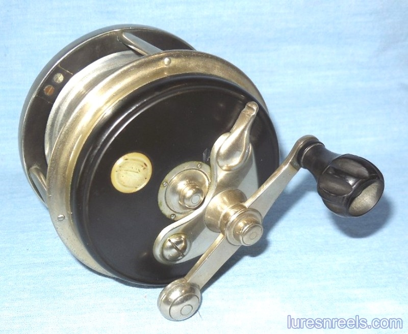 E HOLZMANN Surf King 1900 Patent Design Reel circa 1910 1
