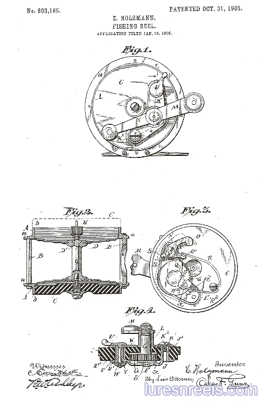 E HOLZMANN Patents 3
