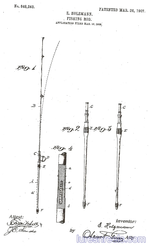 E HOLZMANN Patents 5