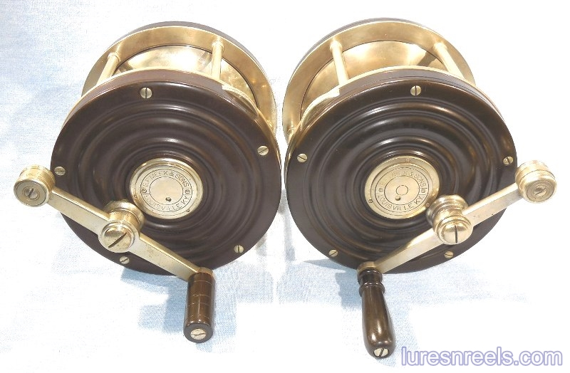 B F Meek and Sons No 11 Left and Right Hand Reels 2