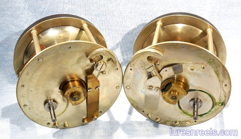 B F Meek and Sons No 11 Left and Right Hand Reels 3