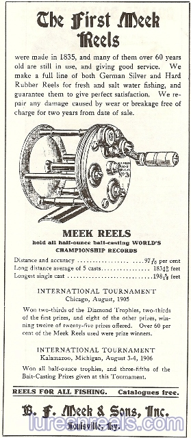 B F Meek and Sons Ad