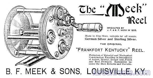 B F Meek and Sons Reel Catalog