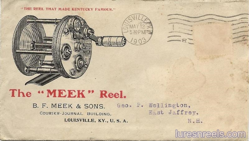 B F Meek and Sons 1903 Letter 1